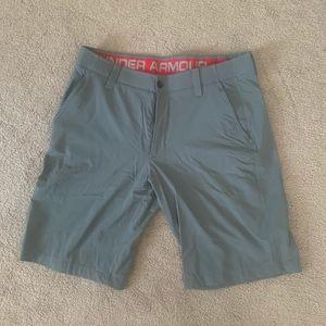 Men's under armour shorts size 34w